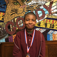 Congratulations to Khaednn M. for placing 10th overall in the Citywide Spelling Bee...we are so proud of you!!! in the spotlight